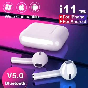 Bluetooth Bezicne Slusalice i11 - TWS Novo! HIT! A U T O M A T S K O