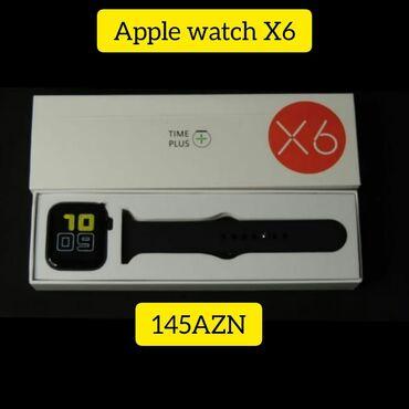 apple 4 s - Azərbaycan: Apple watch X6Ekrana istədiyiniz şəkili qoya bilərsinizZəngləri