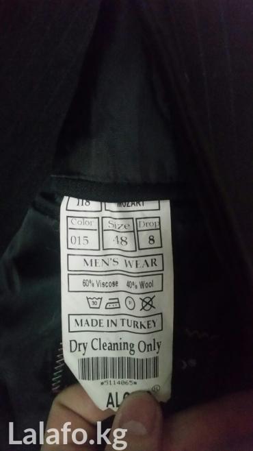продаю мужской костюм (Турция)48 размер. Состояние очень хорошее. в Бишкек