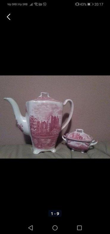 Čajnici | Srbija: Engleski porcelan kao bonbon, nije korišteno