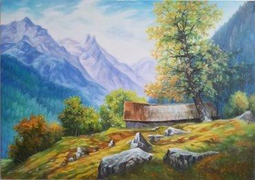 Umjetničke slike urađene u tehnici ulje na platnu.Radim i ostale - Novi Sad