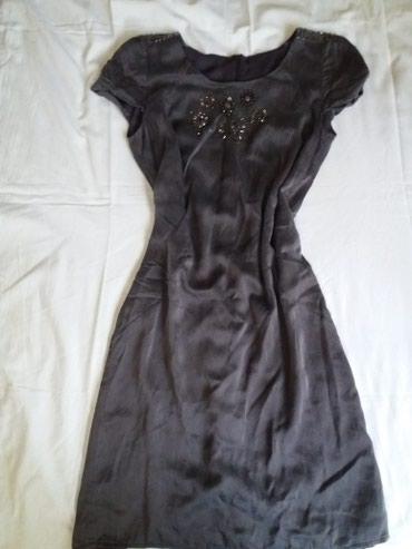 Haljina dobijena iz Francuske. Svila...miš sive boje...inače - Krusevac