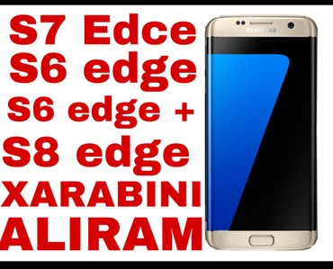 Samsung-galaxy-s7 - Азербайджан: Samsung Galaxy S7 Edge 32 ГБ Золотой