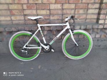 Велосипед из Кореи. Алюминиевый шоссейный. Колёса 26