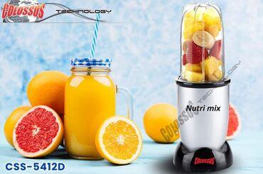 Coca cola - Srbija: NUTRI MIX CSS-5412D COLOSSUSjačina 800W,za smoothie,melje, mixa