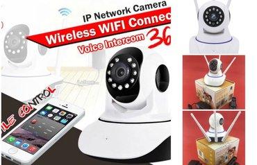 Ip hd wifi audio bezicna kamera   kvalitetna inteligentna ip wifi hd k - Beograd