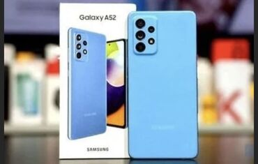 265 elan: Samsung Galaxy A52 | 256 GB | Göy | Zəmanət