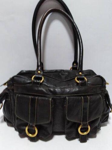 GEORGES RECH original vrhunska velika kvalitetna torba,prirodna fina m