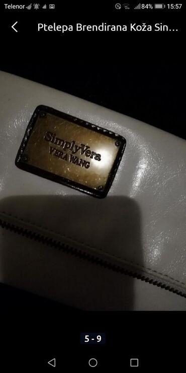 Firmirana kožna bela torbica Savršena je PrelepaKvalitetnaPOGLEDAJTE