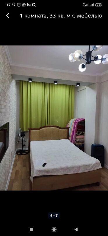 Долгосрочная аренда квартир - 1 комната - Бишкек: 1 комната, 35 кв. м С мебелью