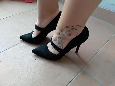 | Mladenovac: Nove cipele Gracelandbroj 38, brusena kozasa kaisem koji ima crne