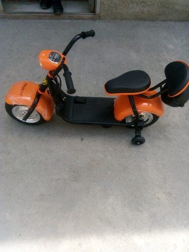 Uşaq dünyası Mingəçevirda: Motoroller