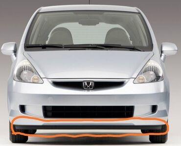 Продаю резиновую накладку или защиту под бампер рестайлинг на Honda