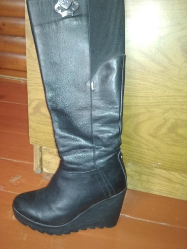 Флипчарты 14 x 36 см настенные - Кыргызстан: Продаю сапоги кожаные.Зима 36размер