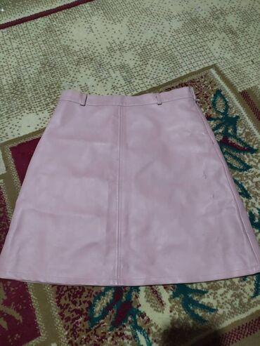 Корейский коженный юбка