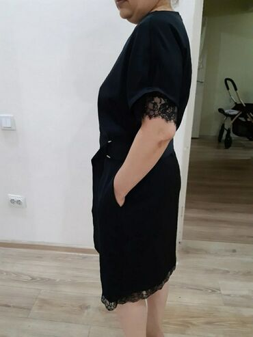 Платье Свободного кроя L