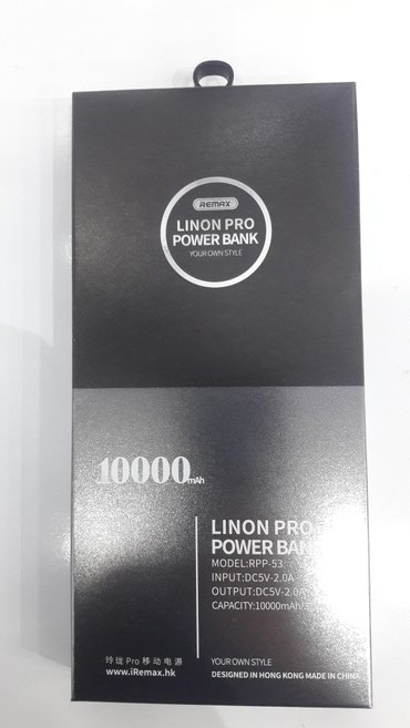LINON PRO Power Bank 10,000 - Bakı