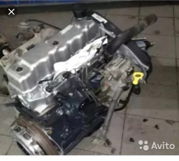 Двигатель на портер 2,5 об привозной с в Бишкек