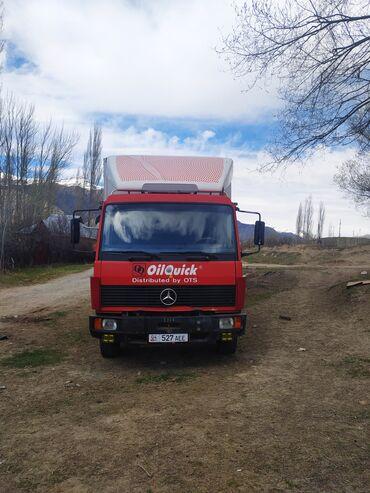 Грузовой и с/х транспорт - Бишкек: Mercedes Benz 1117Жылы 1993 Объему 6 turboМеханика Ону кызылМотор