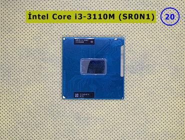 Intel Core i3-3110M (SR0N1)➤ Noutbuk üçün prosessor➤ 3 Мb keş, 2,40