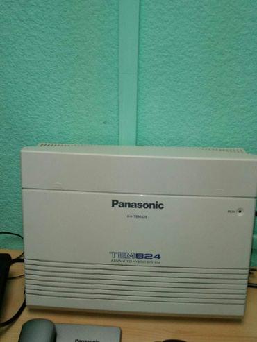 Mingəçevir şəhərində Mini Ats Panasonik 6 xarici , 24 daxili zenkler.