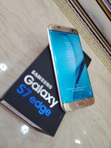 İşlənmiş Samsung Galaxy S7 Edge 32 GB qızılı