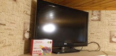 """Televizorlar - 32"""" - Bakı: Lg Led tv Əla vəziyətdə üstündə yeni hd krosnu aparatı veriləcək"""
