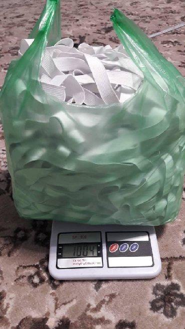 Резинки для медицинских масок - Кыргызстан: Продаю резинки для масок.и спец одежды есть 1 тонна В 1 кг