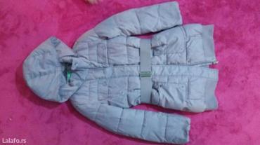 Benetton jakna za devojcicu velicina 8-9. Izuzetno ocuvana, topla i - Palic