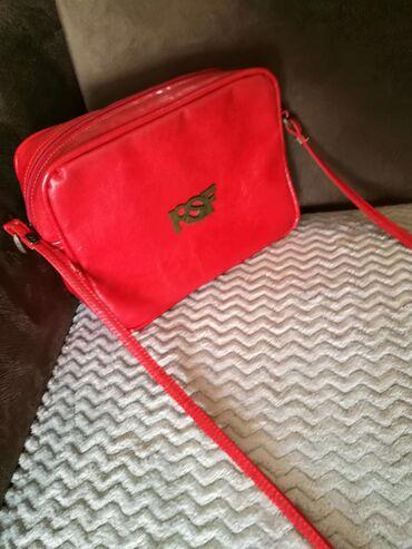 PS fashion crvena torba
