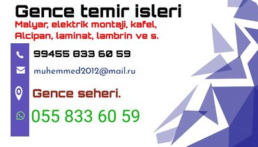gencede qizil magazalari - Azərbaycan: Gencede temir isleri