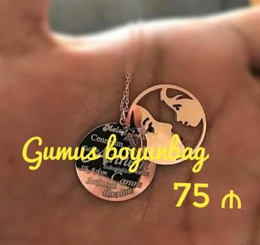 bentley mulsanne 6 75 v8 - Azərbaycan: Gumus Boyunbag - 75 ₼