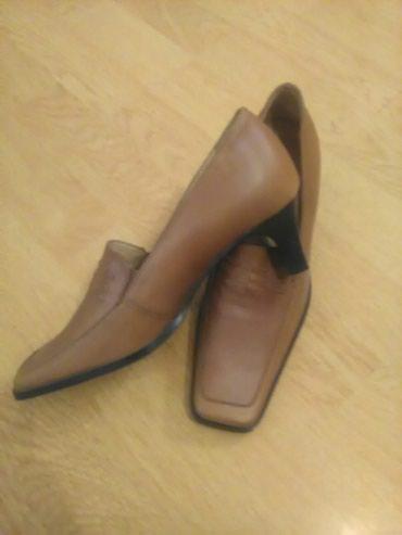 Cipele u braon boji.Vel.36 NOVE - Bajina Basta