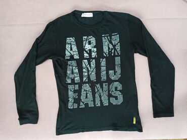 Majica emporio armani - Srbija: Armani jeans majica dugih rukava S veličine! Majica je ravnog kroja
