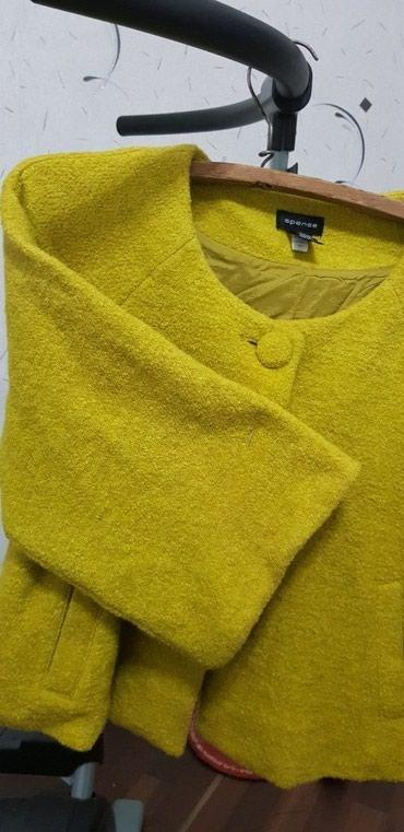 Продается теплый женский жакет,Турция, ткань букле, размер 50-54