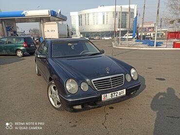 бу резина 2055516 в Кыргызстан: Mercedes-Benz E-класс AMG 4.3 л. 2001