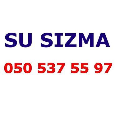 avadanlıq - Azərbaycan: Su sizma təyini və təmiri. Ən son avadanlıqlar. Təmirə 1 il zəmanət  s