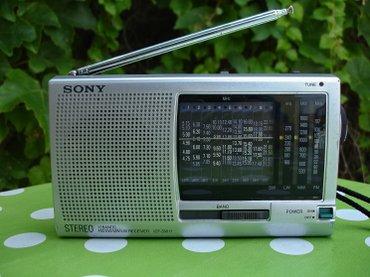 Mali japanski radio tranzistor, takoreći džepni, marke SONY, model - Novi Sad
