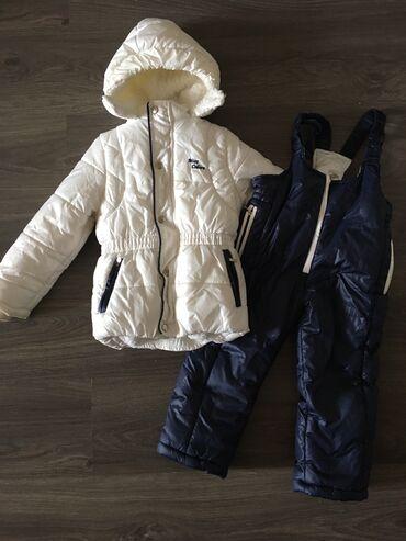 Детская одежда и обувь - Азербайджан: Зимний комплект для девочки Размер 2-3 года Полностью в хорошем