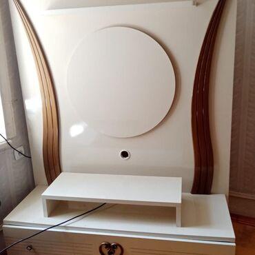 bir tankda mebel - Azərbaycan: Ağ Televizor Altlığı Tam Sağlam Heç Bir Problemi Yoxdu