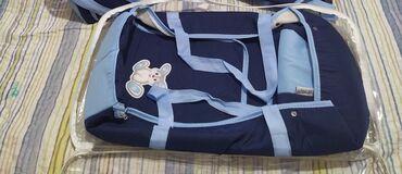 Продам сумку для переноски ребенка.Переноску использовали 1 раз. Цена