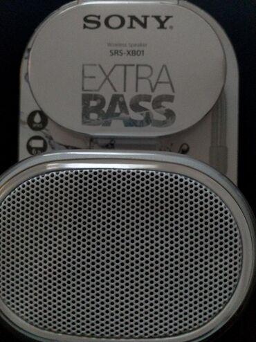 Ostali aksesoari | Srbija: SONY zvučnik  Extra bass SRS- XB01