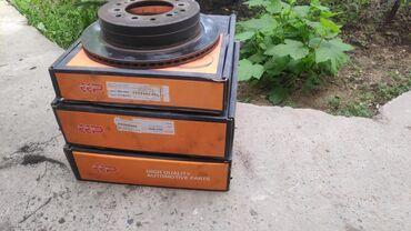 Тормозные диски lexus gx470 лексус жикс жх поставил новые, старые