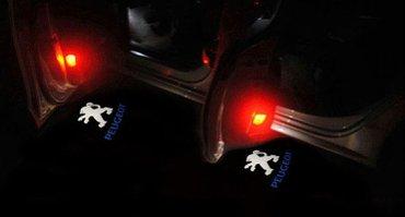 Peugeot 407 - led logo projektor za vrata - komplet od 2 komada. - Zrenjanin