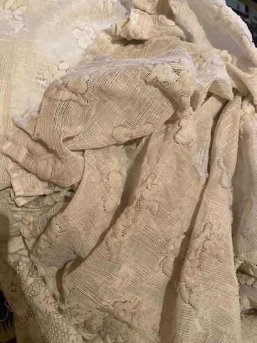 тюл в Кыргызстан: Тюль белая 6 метров