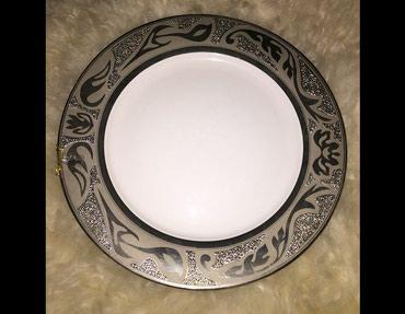 Тарелка,плоская,обеденная,новая,производства в Бишкек