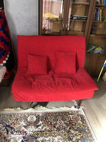 слезы на подушке 3 в Кыргызстан: Продаётся красивый, стильный, компактный, легкий, удобный диван с 2