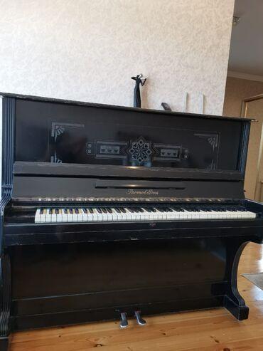 İdman və hobbi - Biləsuvar: Fortepiano. Yaxsı, işlək vəziyyətdədir. tam işlekdir. Qiymet 100