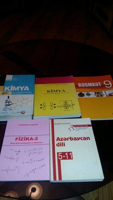 Bakı şəhərində Kitablar.kimya tqdk,kimya İ.U.LƏTİFOV,Fizika düsturlar,Azərbaycan