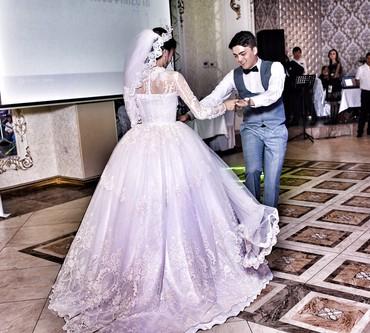 свадебное украшения в Кыргызстан: Продаю свадебное плате, В единственном экземпляре сшитое на заказ в